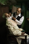 barber varanasi with fan-1.JPG